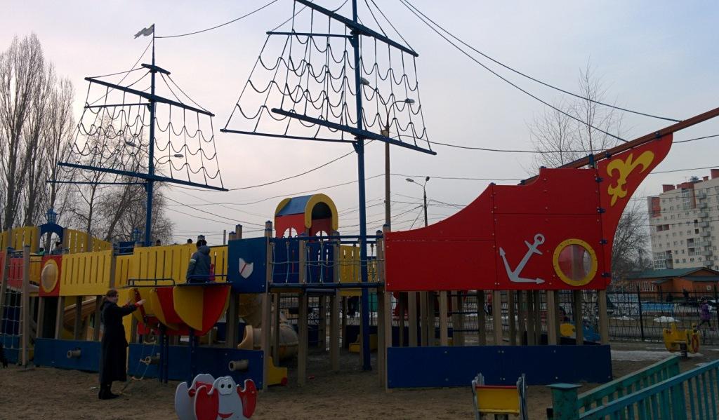 Детский городок в парке имени 777-летия Нижнего Новгорода демонтируют - фото